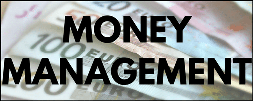 Money management menu
