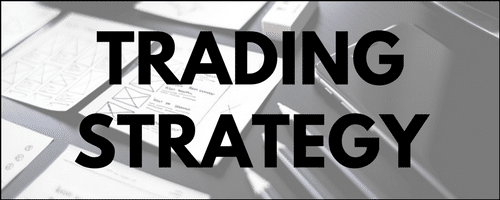 Trading strategy menu
