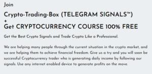 Crypto Trading Box